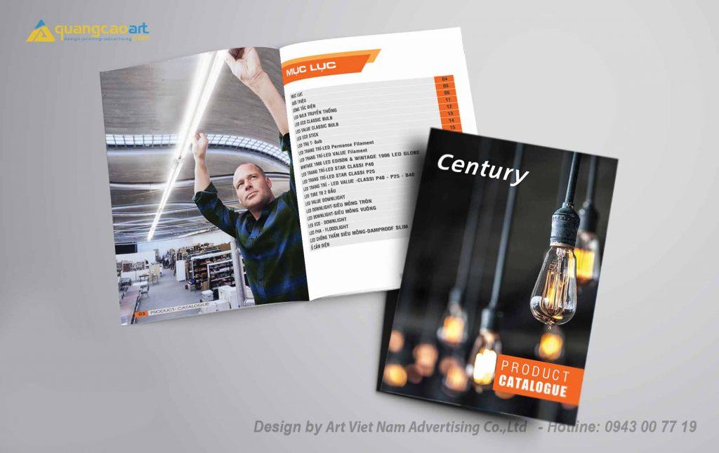 Thiết kế catalogue ở bình dương