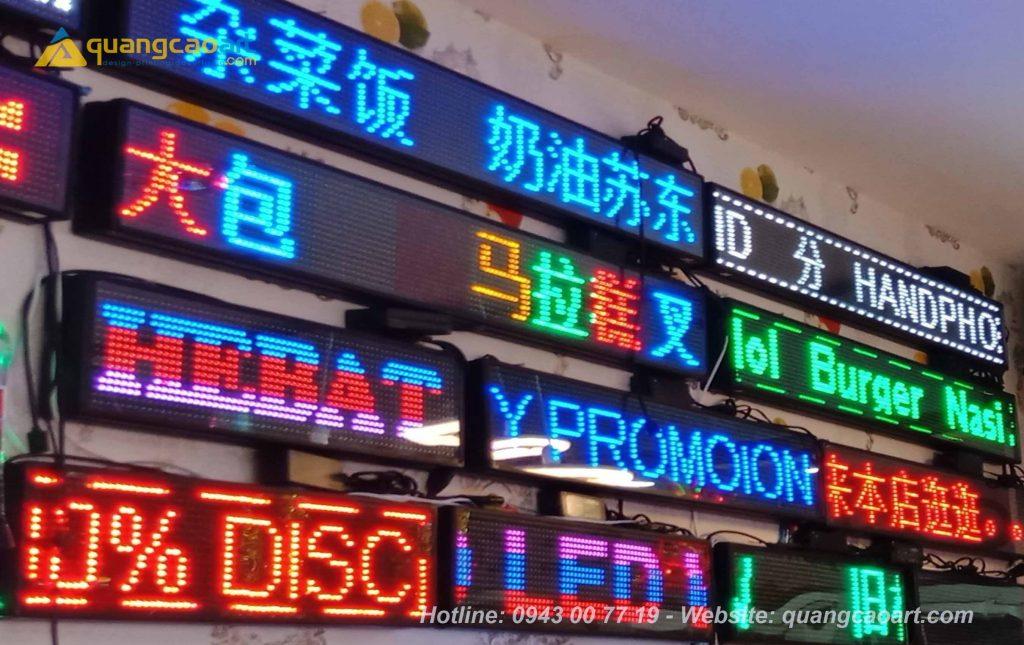biển hiệu đèn led giá rẻ