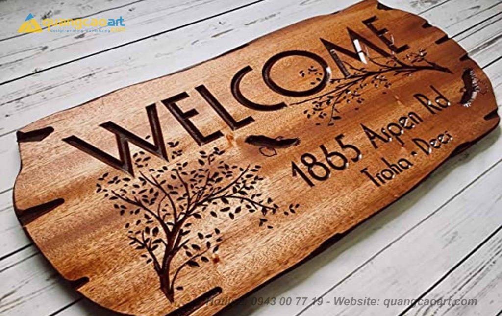 làm bảng hiệu gỗ đẹp tại hồ chí minh